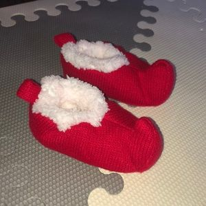 Carters just one you elf slipper socks 0-6 months